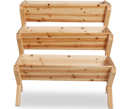 3 Tiered Wood Garden Planter