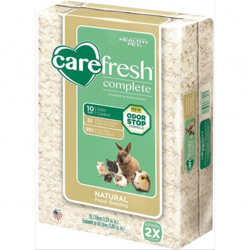 CareFresh Complete Small Animal Paper Bedding, White