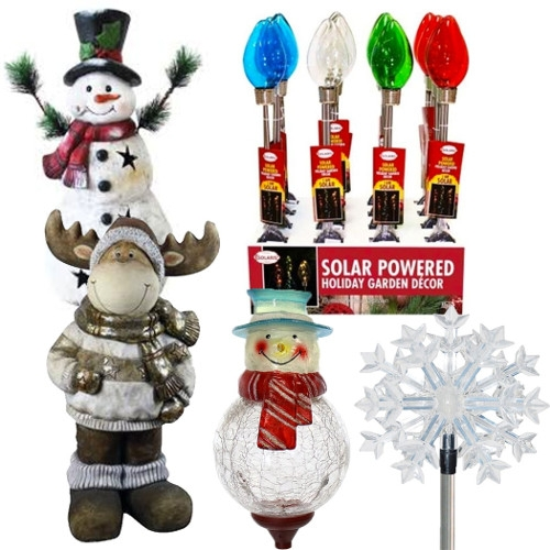 Alpine Holiday Decorations & Solar Path Lights