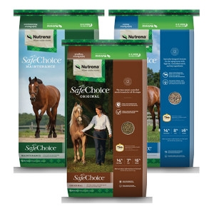 Nutrena SafeChoice Horse Feeds
