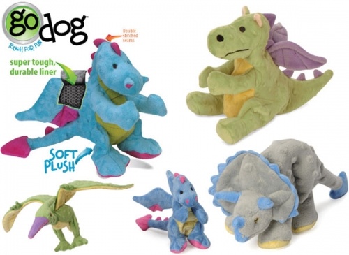 GoDog Plush Dog Toys