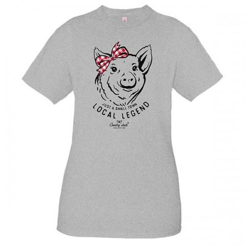 Simply Southern Tee – Local Legend Pig