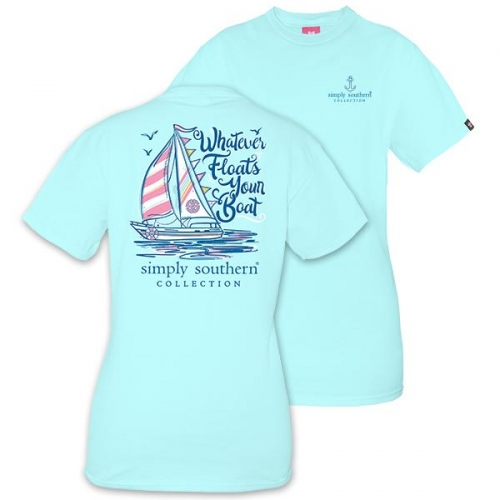 Simply Southern Tee – Floats Your Boat