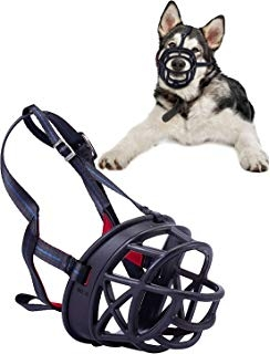 Silicone Basket Muzzles for Dogs