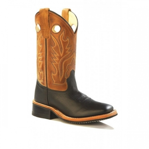 Old West Youth Canyon Corona Boot
