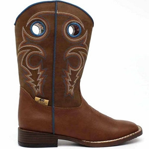 Double Barrel Youth Dylan Cowboy Boot
