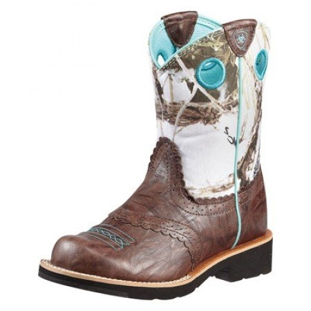 Ariat Youth Fatbaby Cowgirl Snowflake Boot