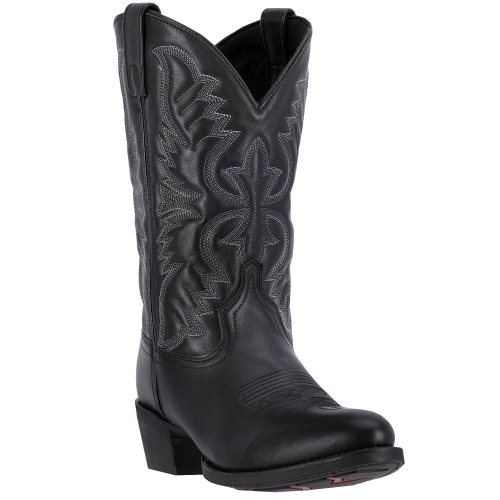 Laredo Men's Birchwood Black Leather Boot