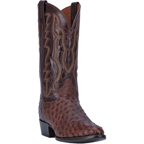 Dan Post Men's Pershing Full Quill Ostrich Boot