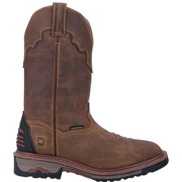 Dan Post Men's Waterproof Blayde Pull-On Workboot