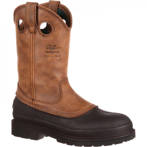 Georgia Boot Men's Muddog Wellington Workboot