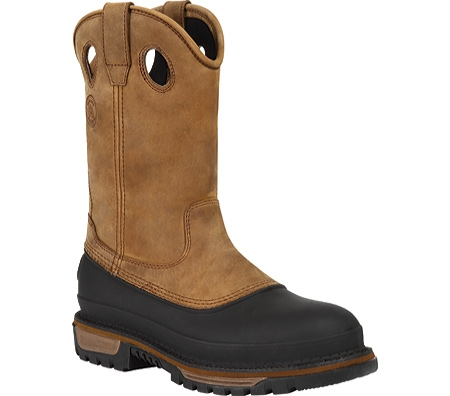 Georgia Boot Men's Waterproof Muddog STEEL TOE Wellington Workboot
