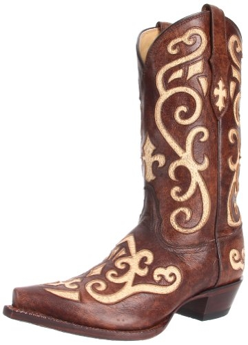 Tony Lama Women's Vaquero Earth Santa Fe Boot