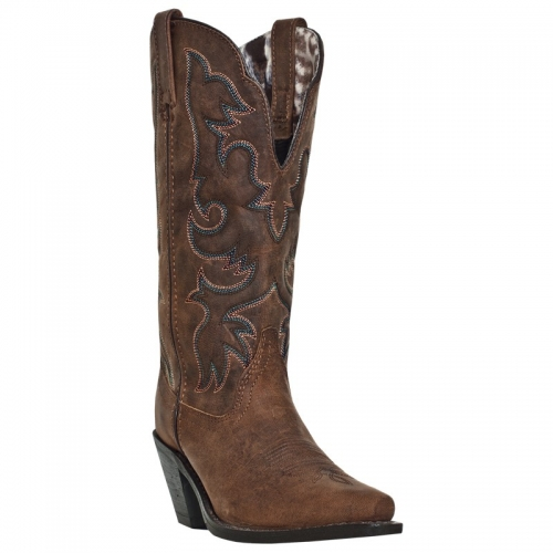 Laredo Women's Access Wide-Calf Leather Boot