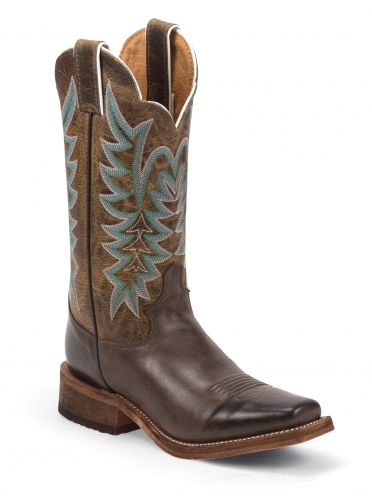 Justin Women's Bent Rail Guthrie Chocolate Boot