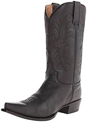 Stetson Women's Black Ficcini Fashion Boot