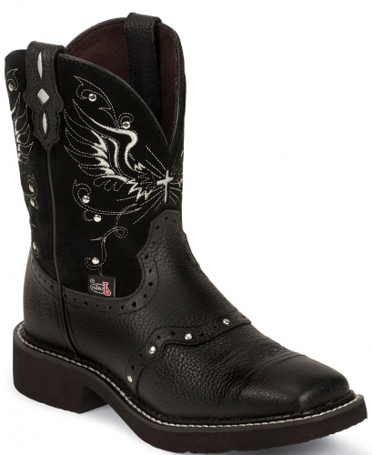 Justin Women's Mandra Black Gypsy Boot