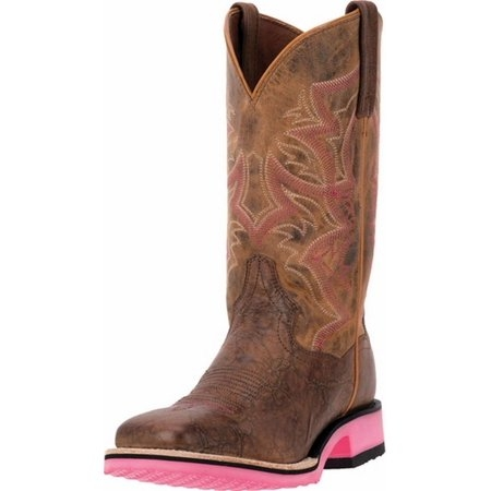 Dan Post Women's Pink Serrano Boot