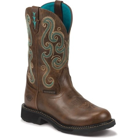Justin Women's Tasha H2O Workboot