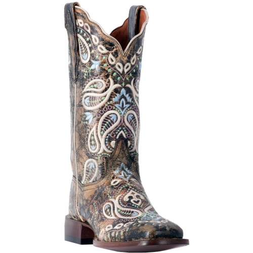 Dan Post Women's Anna Embroidered Leather Boot