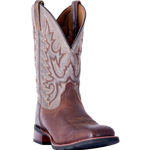 Laredo Men's Heath Grey Leather Boot