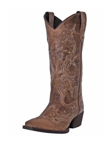 Laredo Women's Cross Point Leather Boot