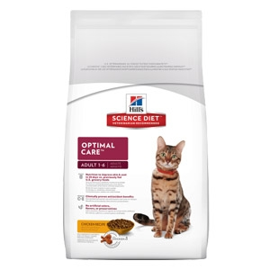 Hill's® Science Diet® Adult Optimal Care® Original Cat Food