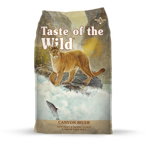 Taste of the Wild® Canyon River Feline Recipe