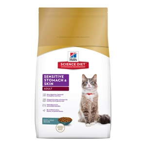Hill's® Science Diet® Adult Sensitive Stomach & Skin Cat Food