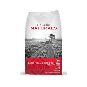 Diamond Naturals Lamb Meal & Rice Formula for Adult Dogs 40lb