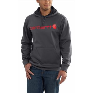 Carhartt Force Extremes Signature Graphic Hooded Sweatshirt – Charcoal