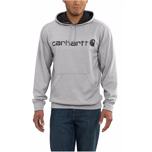 Carhartt Force Extremes Signature Graphic Hooded Sweatshirt – Grey