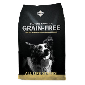 Diamond Naturals Grain-Free Chicken & Sweet Potato Formula for Dogs