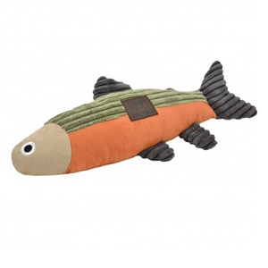 Tall Tails® Fish with Squeaker Dog Toy