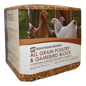 Southern States All Grain Poultry & Gamebird Block 25lb