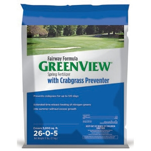 GreenView Fairway Formula Spring Fertilizer with Crabgrass Preventer