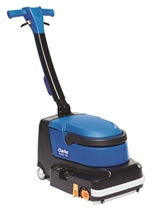 Floor Tile Scrubber, Battery Power
