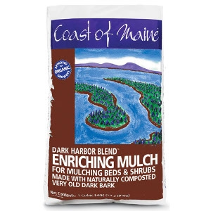 Coast of Maine Dark Harbor Blend Enriching Mulch