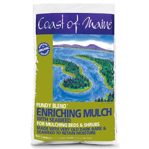 Coast of Maine Fundy Blend Enriching Mulch with Kelp