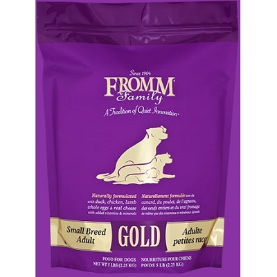 Fromm Small Breed Adult Gold Dry Dog Food 15lb