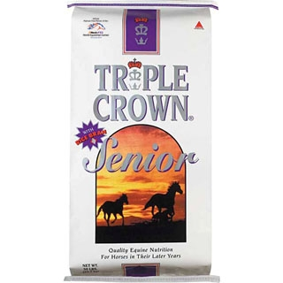 Triple Crown Senior Formula Textured Horse Feed 50lb