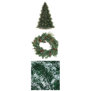 Christmas Trees, Wreaths, and Roping