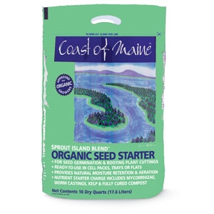 Coast of Maine Sprout Island Organic Seed Starter 16qt