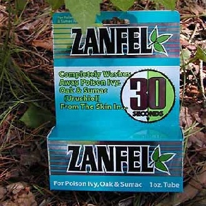 Zanfel Poison Ivy, Oak & Sumac Wash 1oz Tube