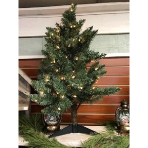 Norway Blue Spruce Tabletop Artificial Tree 3'
