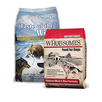 $3 Off Any Brand of Dog Food- 5lbs or Larger