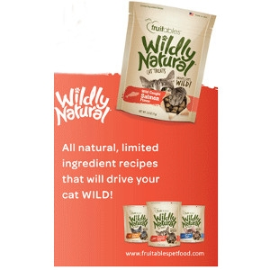 Fruitables Wildly Natural Tuna Cat Treat 2.5 Oz