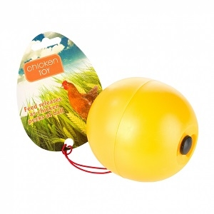 Manna Pro Chicken Toy with Feed Release
