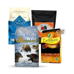 $2.50 Off Any Brand of Dog Food- 24lbs or Larger