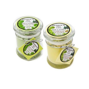 Bedrock Tree Farm Soy Candles - Assorted